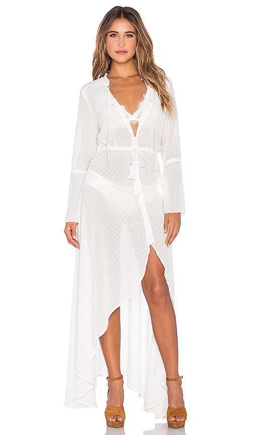 AUGUSTE Heavenly Maxi Dress in White