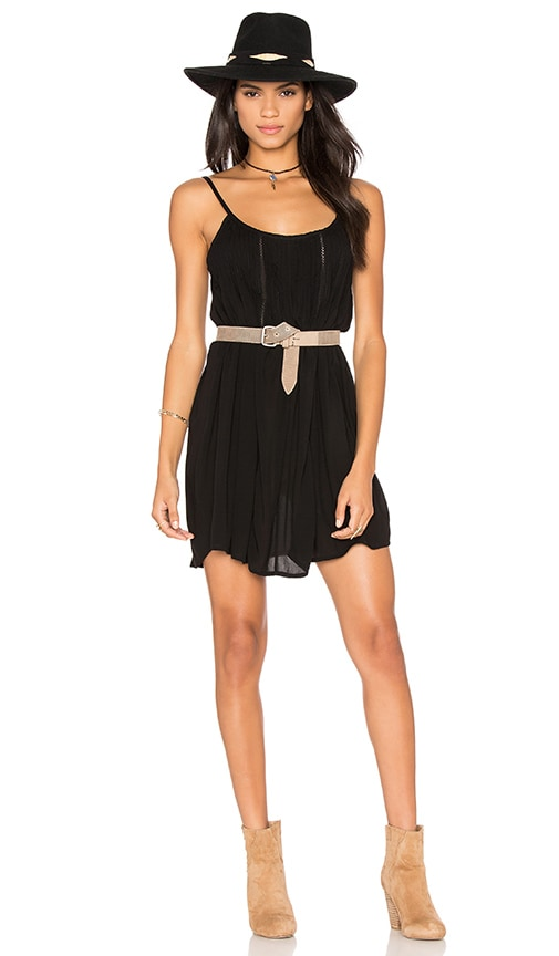 AUGUSTE Desert Sun Dress in Black