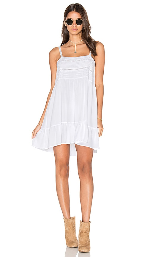 AUGUSTE Sandy Days Play Dress in White
