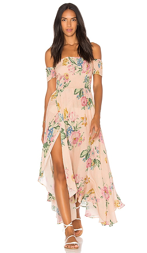 AUGUSTE x REVOLVE Boheme Goddess Maxi Dress in Pink