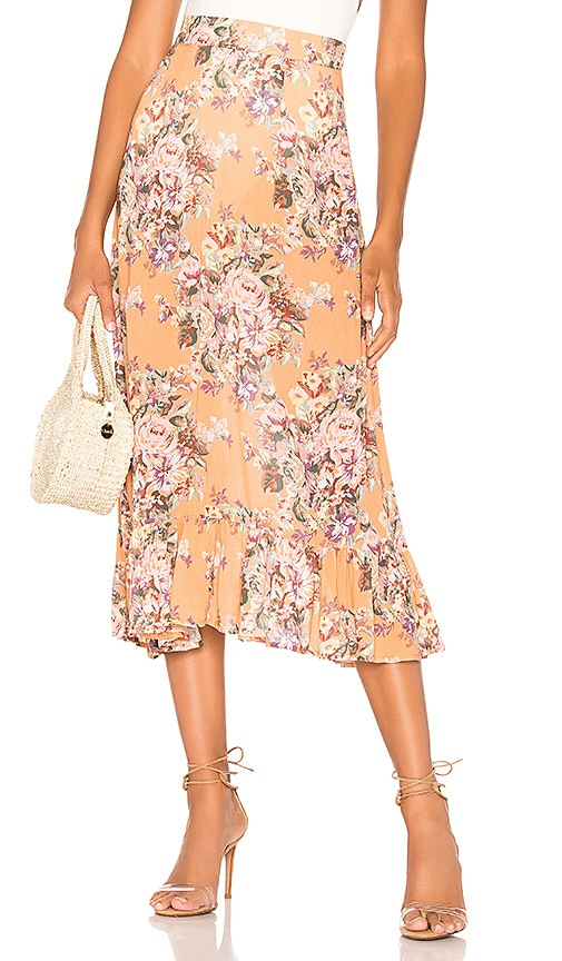 Bijoux Island Midi Skirt