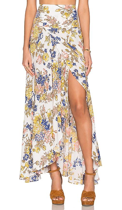 Wild Flower Maxi Skirt