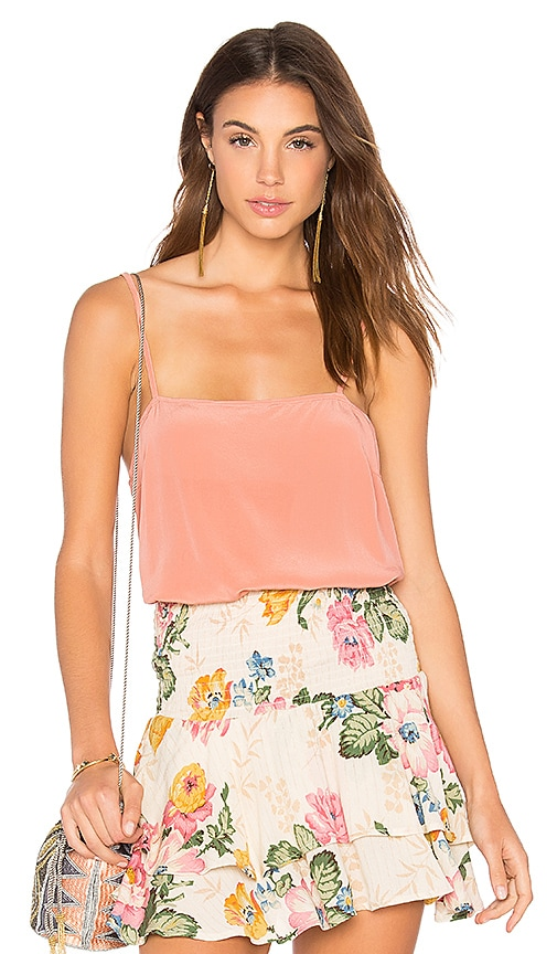 AUGUSTE Lily Silk Cami in Pink