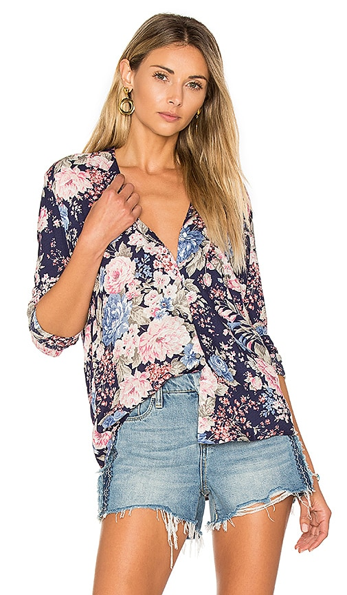 AUGUSTE Stevie Shirt Francis Floral in Navy