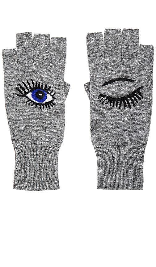 Wink Fingerless Gloves