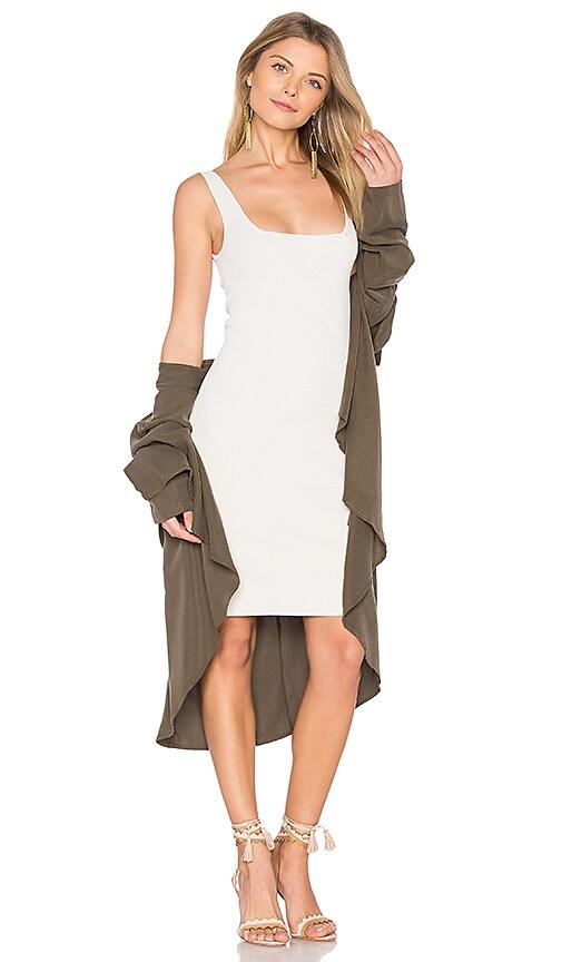 Autumn Cashmere Bodycon Mini Dress in Gray