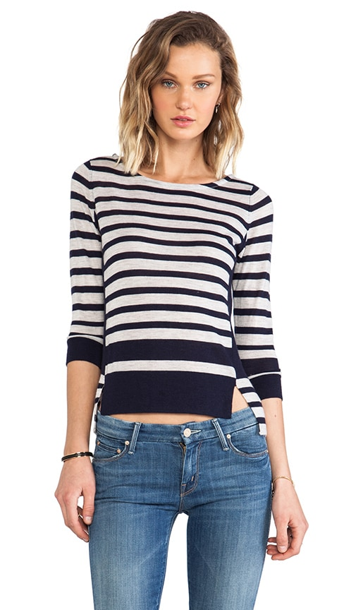 Side Slit Pullover