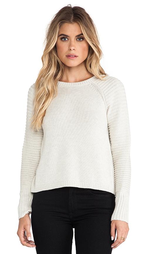 Hi Low Crew Sweater