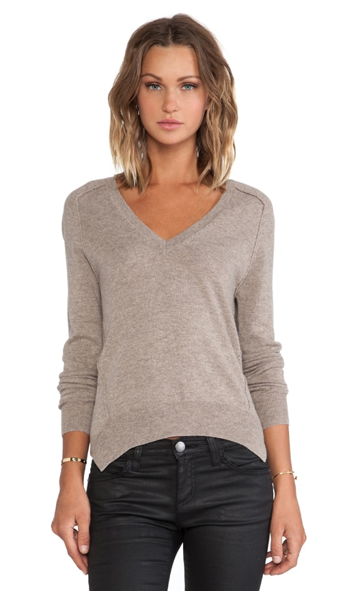 Carved Hem Sweater