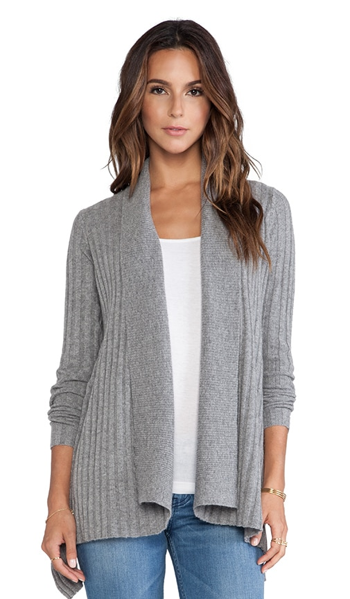 New Rib Drape Sweater