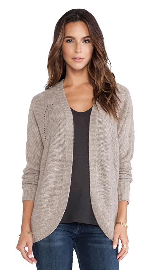 Open Cocoon Duster Sweater