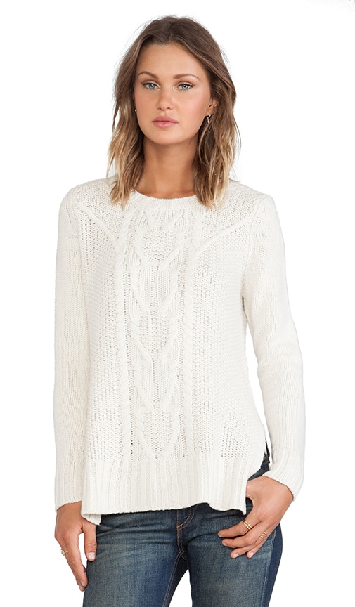 Cable Hi Lo Tunic