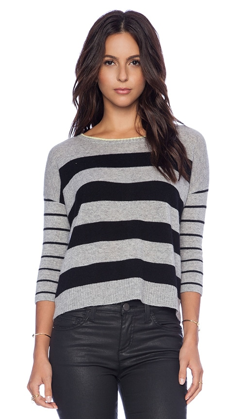 Sailor Stripe Boatneck Sweater