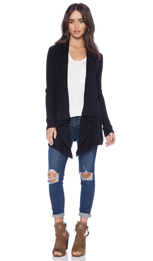 New Rib Drape Sweater