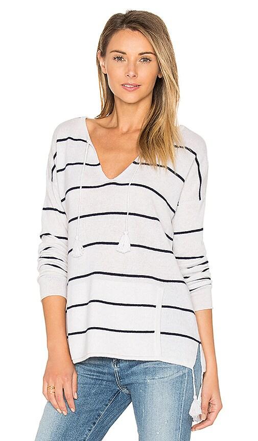 Tassel Striped Baja Sweater