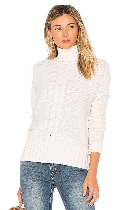 Autumn Cashmere x REVOLVE Mock Neck Sweater in Ivory