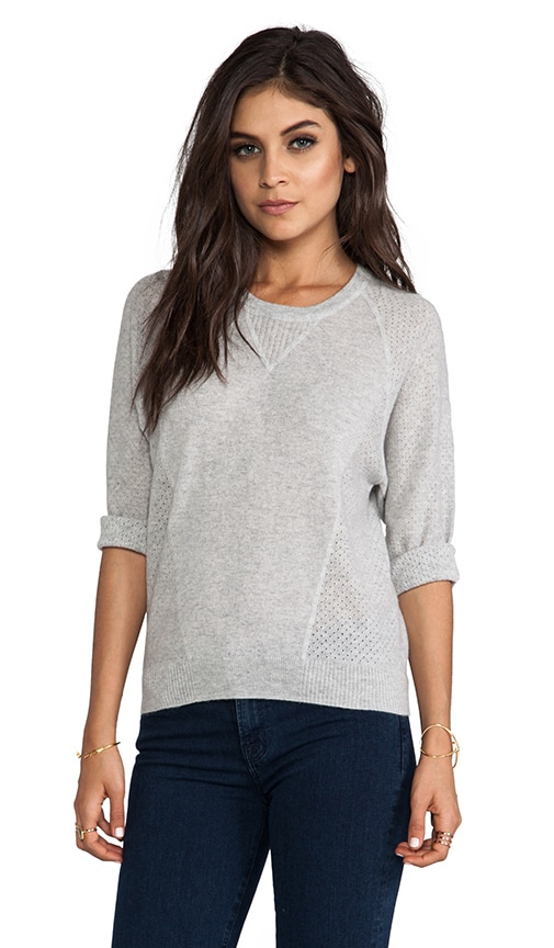 Mesh Detail Sweatshirt
