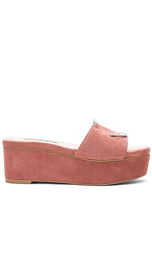 AVEC LES FILLES Addison Platform Sandal in Rose
