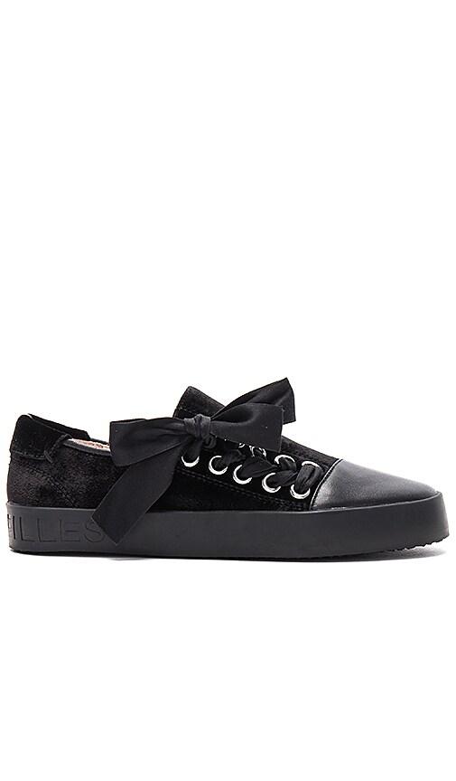 AVEC LES FILLES Vera Sneaker in Black