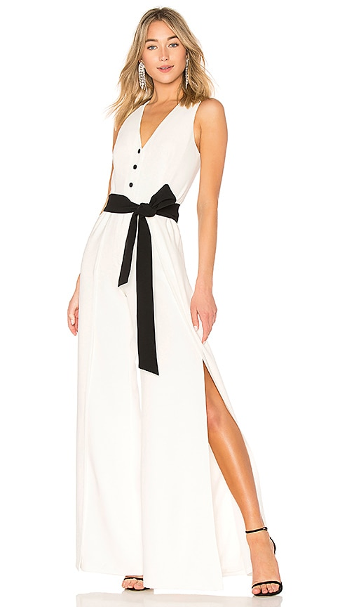Alexis Moe Jumpsuit in White