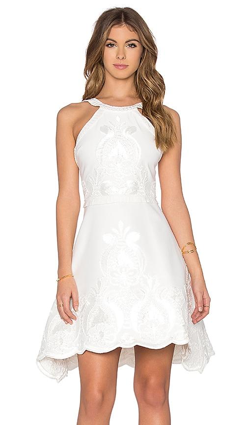 Alexis Valeria Dress in White