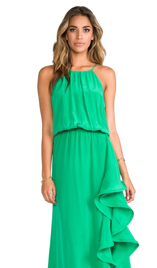 Mickael Long Dress With Ruffle