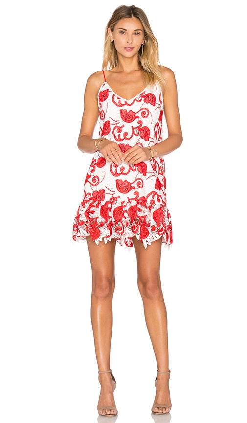 Alexis Clement Dress in Red