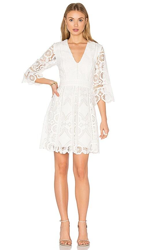 Alexis Webb Dress in White