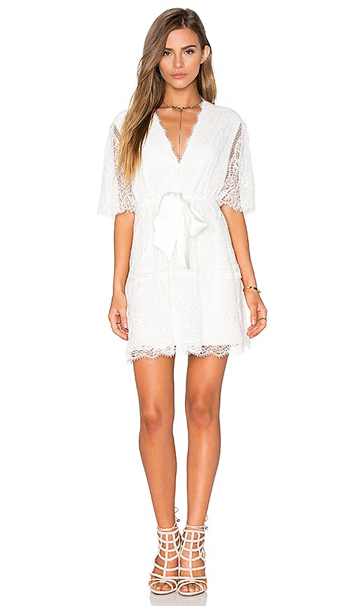 Alexis Belinda Dress in White