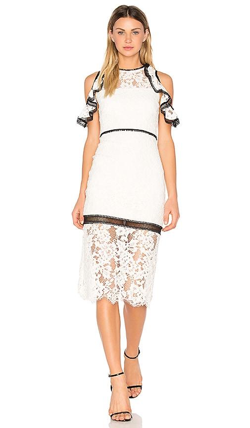 Alexis Evie Dress in White