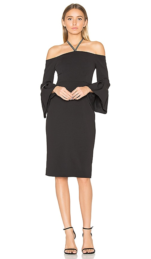 Alexis Amelie Dress in Black