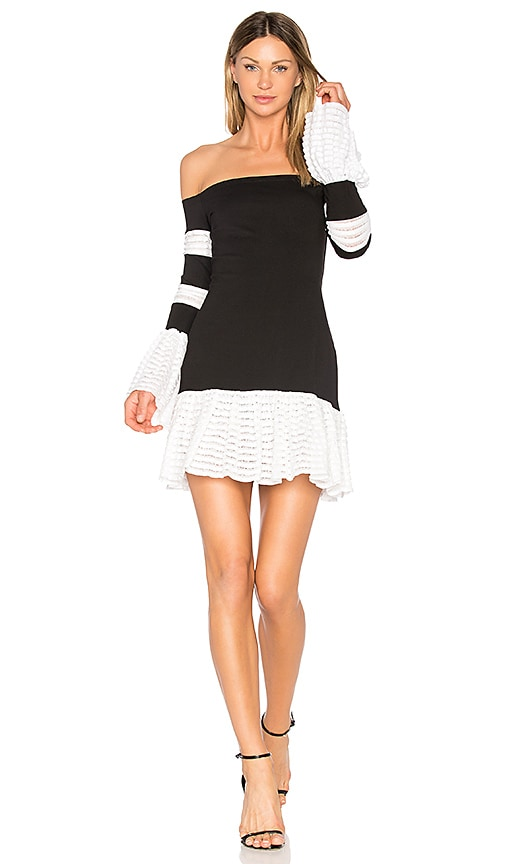 Alexis Miggy Dress in Black & White