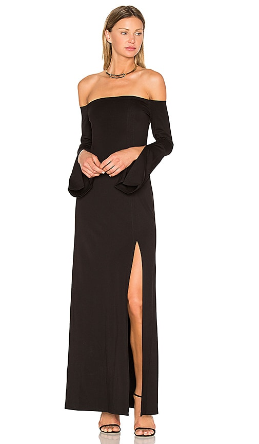 Alexis Katana Dress in Black