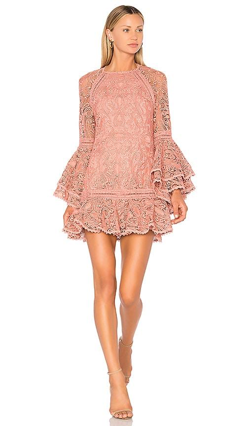Alexis Veronique Dress in Mauve