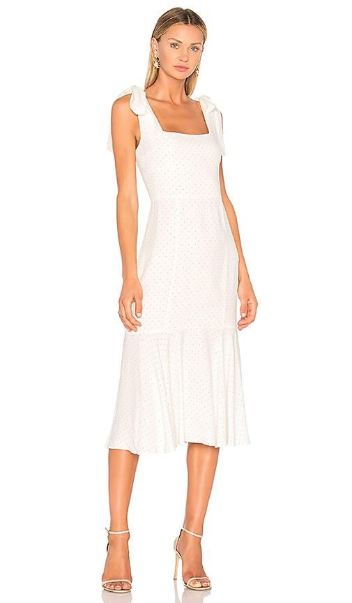 Alexis Pauldine Dress in White