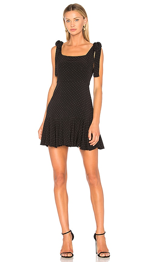 Alexis Jazz Dress in Black