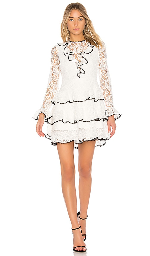 Alexis Tracie Dress in Ivory