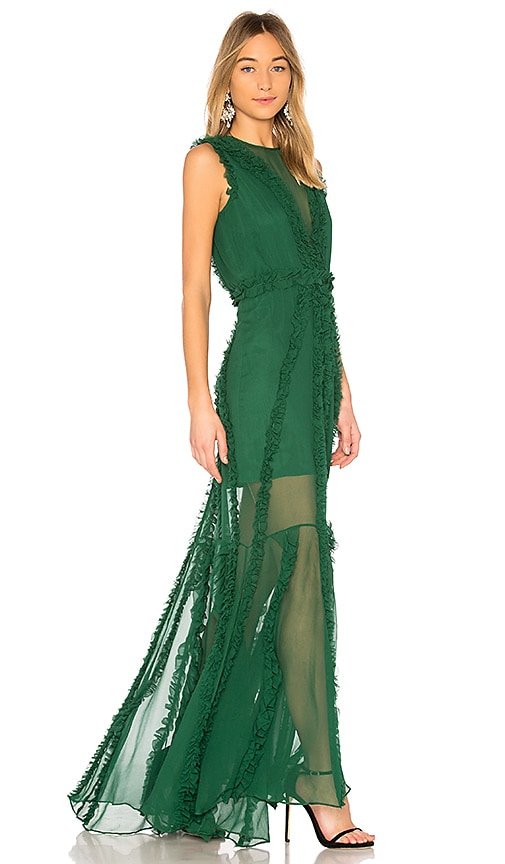 Alexis X REVOLVE Malaya Gown in Green