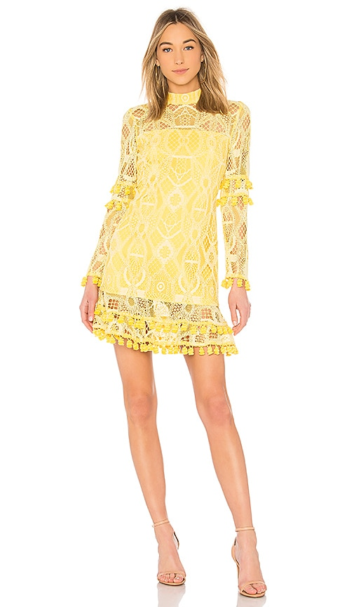 Alexis Callisto Dress in Yellow