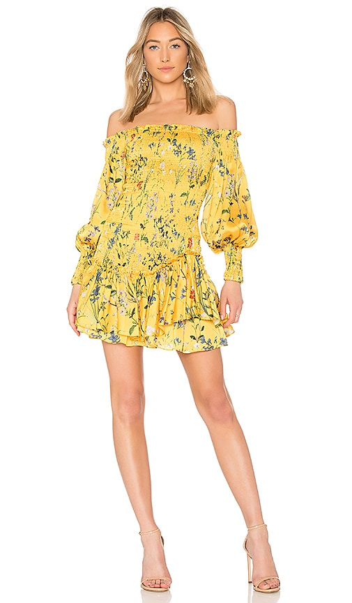 Alexis Gemina Dress in Yellow