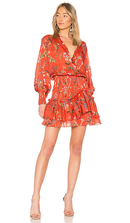 Alexis Rianna Dress in Red