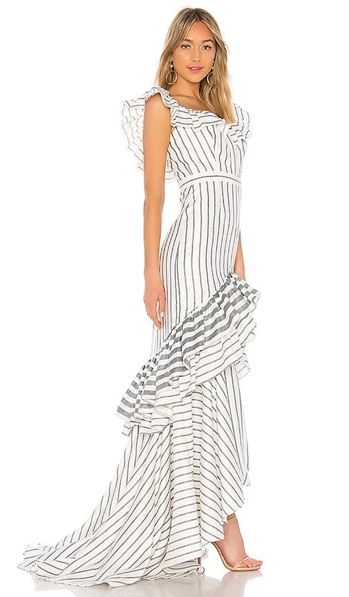 Alexis Madelia Dress in White