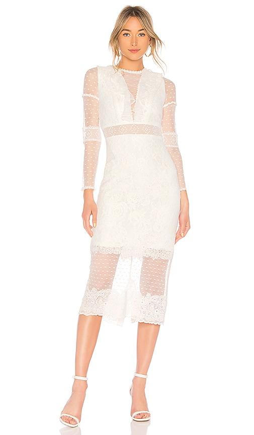 Alexis Elize Dress in White