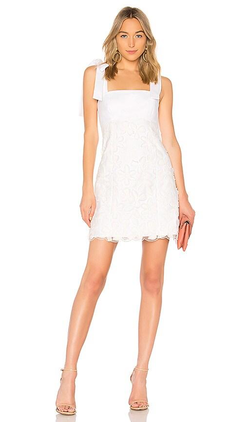 Alexis Elaina Dress in White