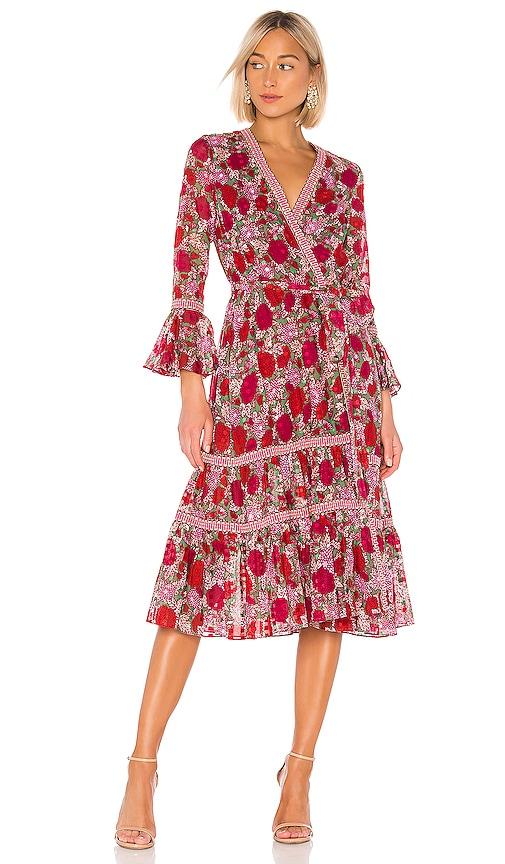 Marcas Wrap Dress