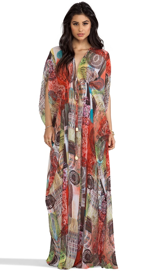 Shadia V Neck Caftan