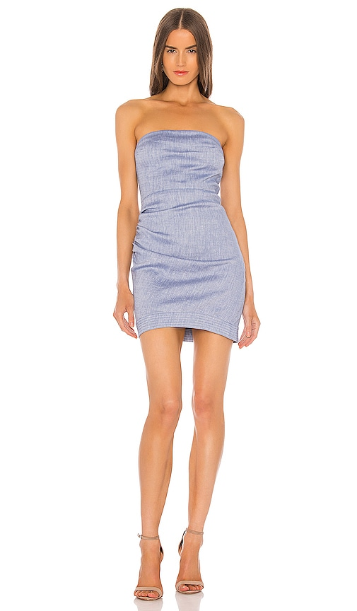 Alexis Tatyana Dress in Light Blue | REVOLVE