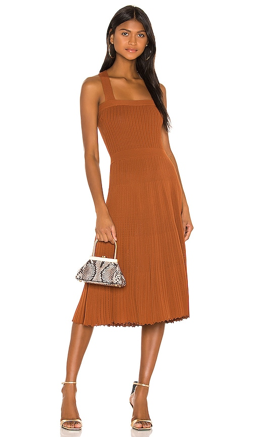 Alexis Bess Dress in Rust | REVOLVE
