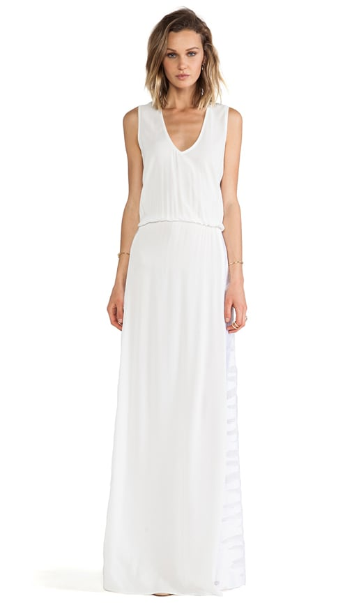 Pat V Neck Maxi Dress