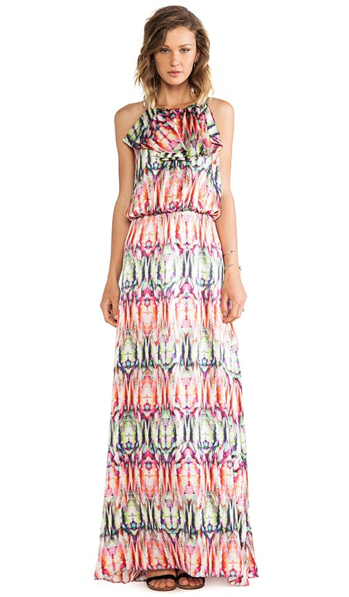 Cornelia Printed Maxi Dress
